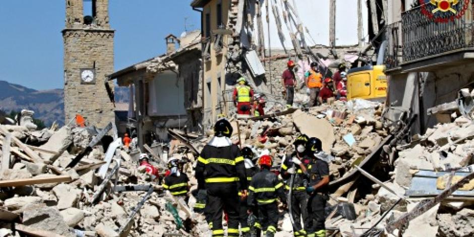 Decreta Italia estado de emergencia por sismo