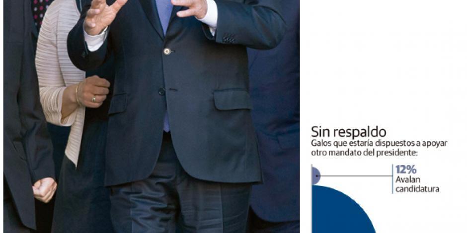 Hollande vende su candidatura a la  reelección como líder antiterrorista