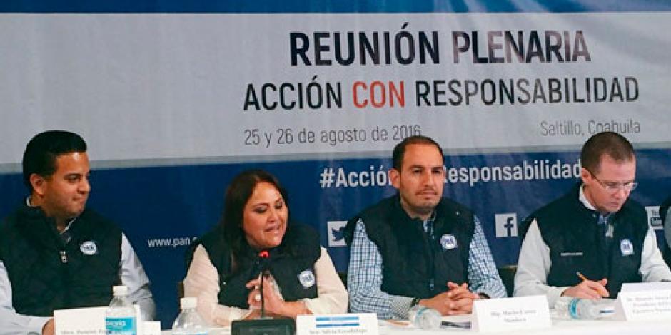 Arranca plenaria de senadores del PAN en Coahuila