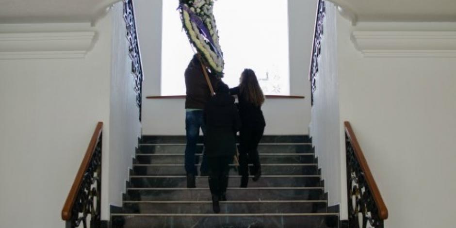 Velan a Rafael Tovar y de Teresa en el Panteón Francés