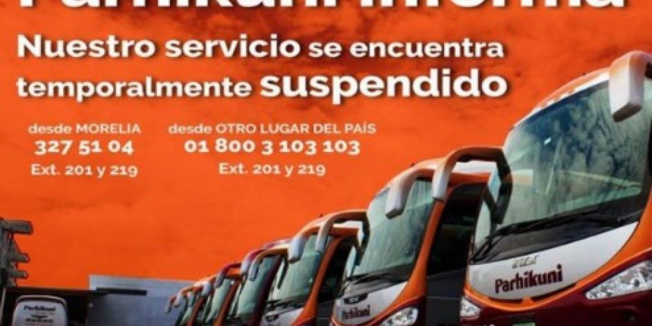 Suspenden de nuevo corridas en Michoacán por retención de camiones