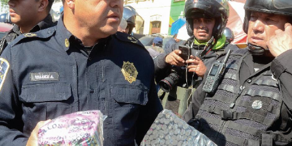 Piden reforzar vigilancia en venta ilegal de cohetes