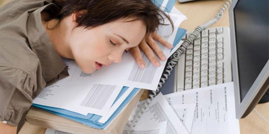 Síndrome de fatiga crónica y estrés causan abandono de trabajo