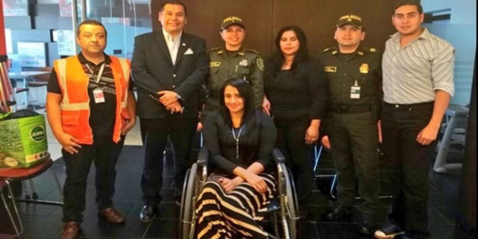 Azafata sobreviviente de accidente aéreo del Chapecoense regresa a Bolivia