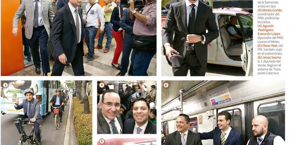 Por la contingencia llegan a San Lázaro en bicicletas, Metro...