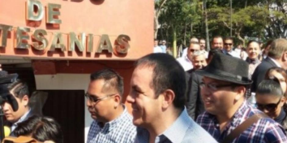 Regresa Cuauhtémoc Blanco al ayuntamiento de Cuernavaca