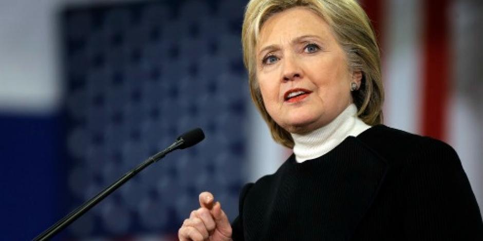 Apoya Clinton petición para saber si Rusia intervino en elección presidencial