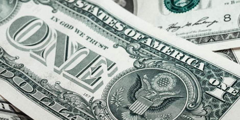 Dólar se vende hasta en 18.75 pesos en bancos
