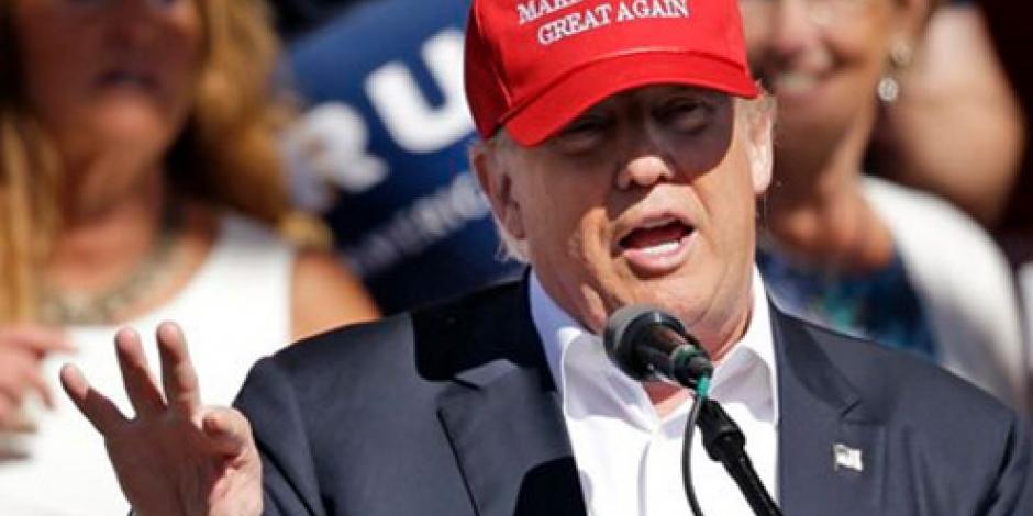 Hillary, casada con el peor abusador de mujeres en la política, afirma Trump