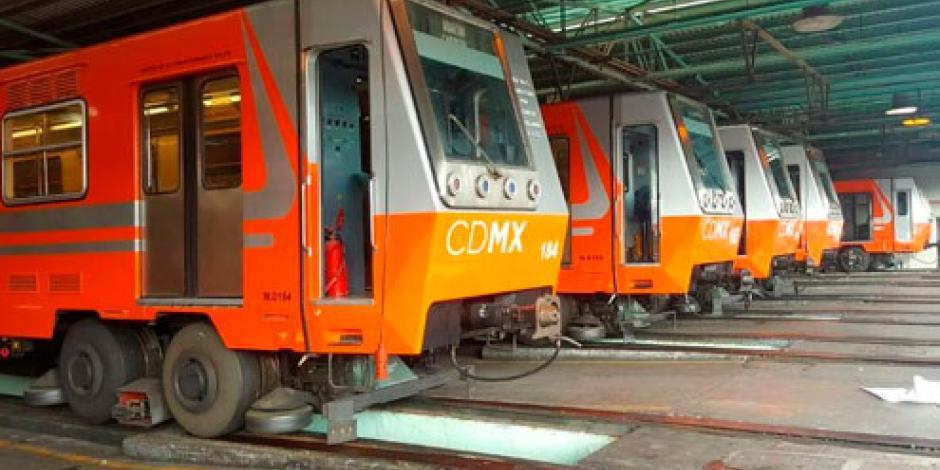 Metro rehabilita 5 trenes para las líneas 4,5 y 6