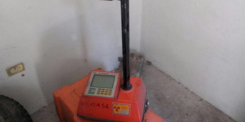 Segob alerta por robo de fuente radioactiva en Sonora