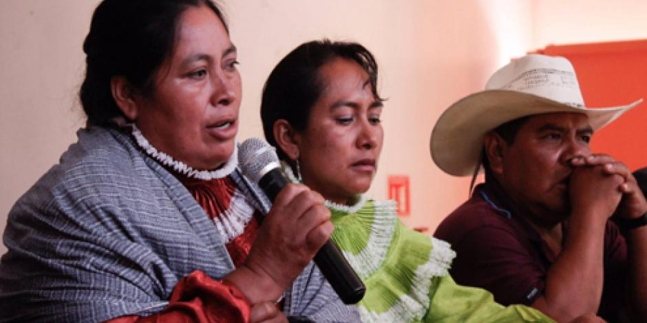 Exigen a PGR reparación económica y disculpa para indígena