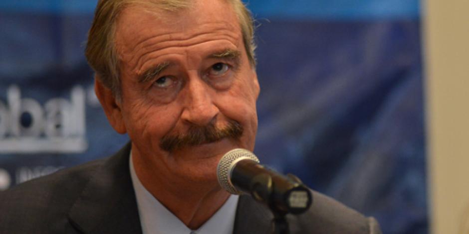 Vicente Fox pide perdón a Donald Trump