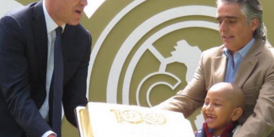América parte pastel del Centenario