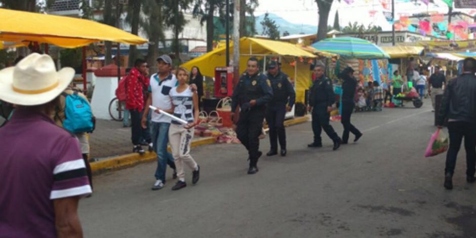 Vigilan 34 mil policías 120 panteones de la CDMX