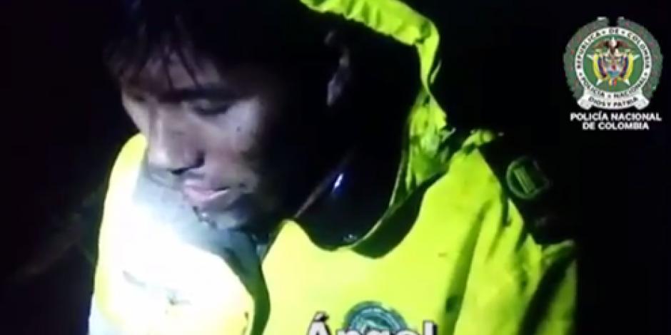 VIDEO: Rescate de sobreviviente de la tripulación del