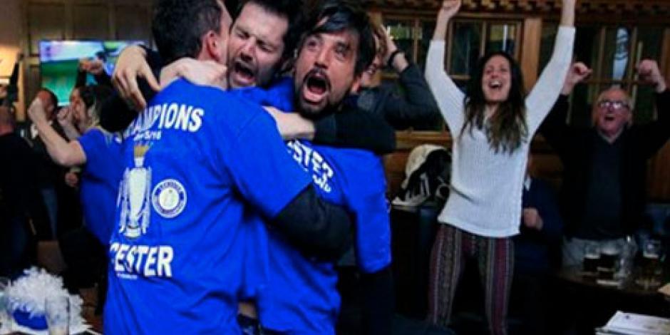 Leicester hace historia en el futbol mundial, es campeón