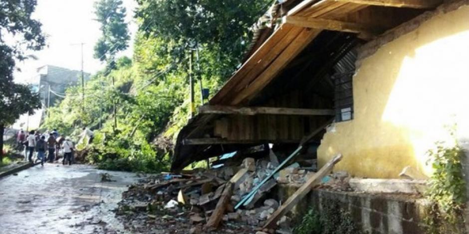 Van 10 muertos en Veracruz por paso de la tormenta