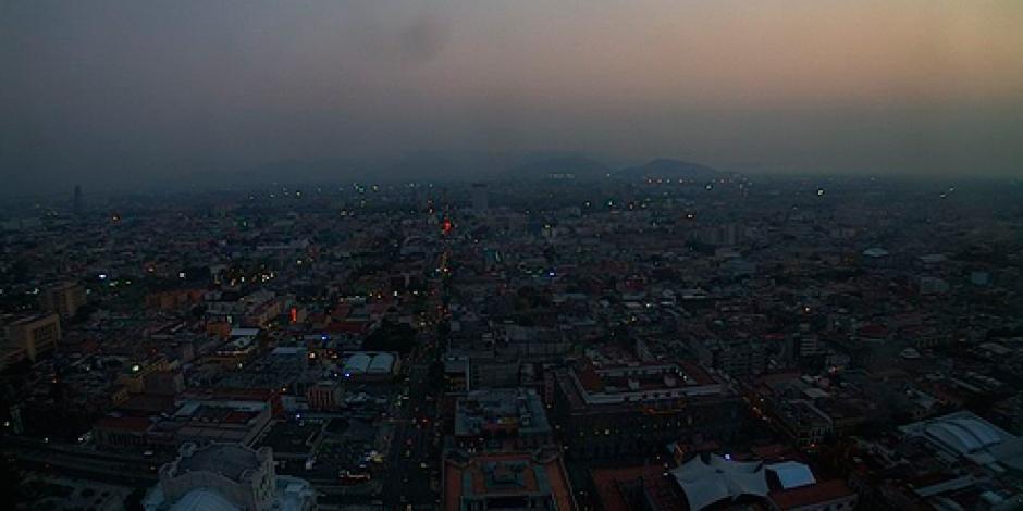 Sin mejora, calidad del aire en el Valle de México