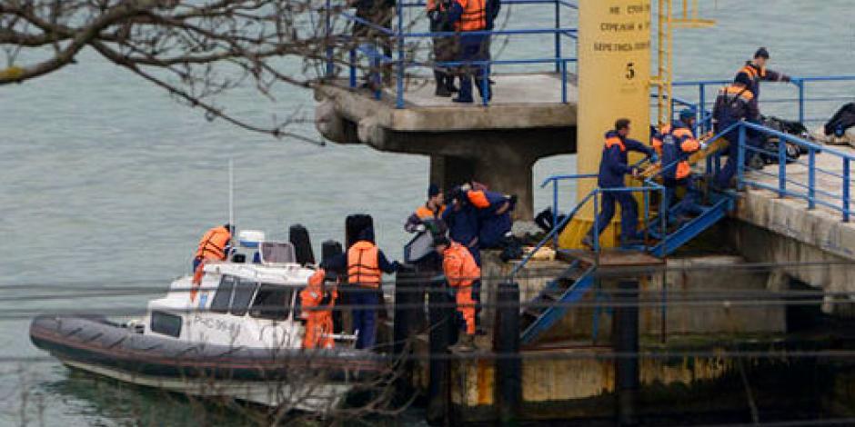 Avión ruso con 92 pasajeros a bordo se estrella en mar Negro