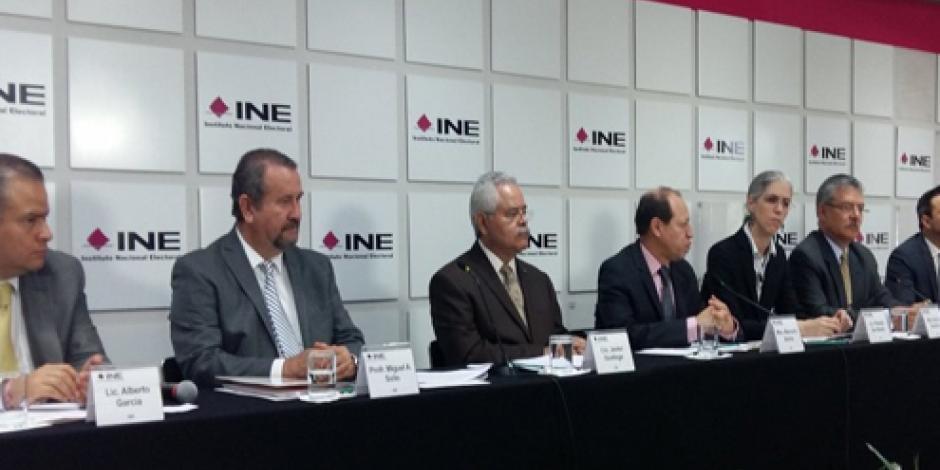 Hay condiciones para elecciones en 14 estados, revela INE