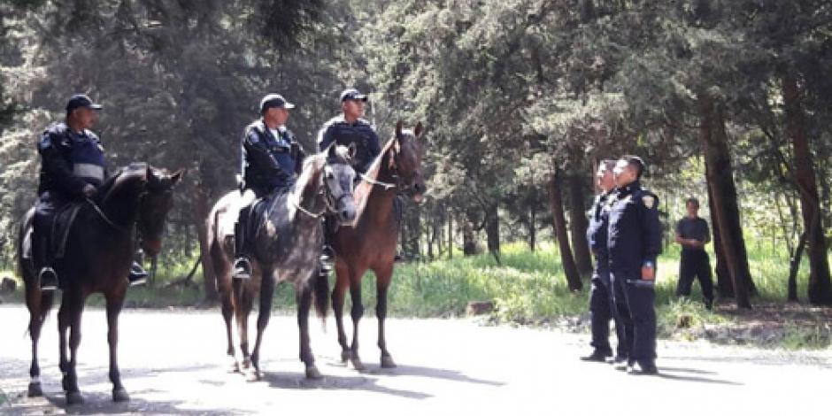 Refuerzan seguridad en Bosque de Tlalpan tras agresión a corredora