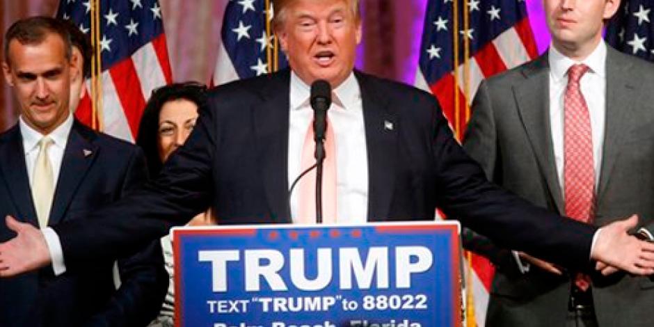 """Trump afirma que habrá """"disturbios"""" si le quitan candidatura"""