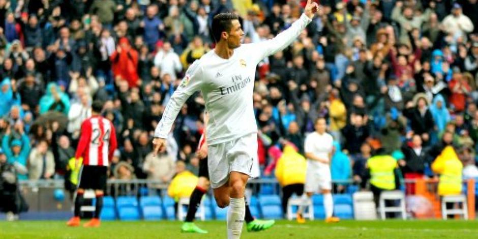 Doblete de Cristiano Ronaldo impone victoria del Madrid frente al Bilbao