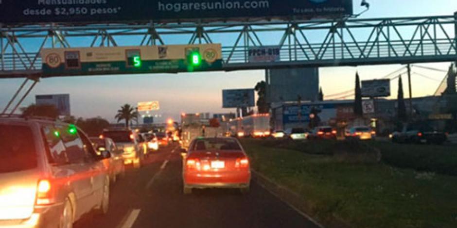 Muere persona atropellada en la autopista México-Pachuca