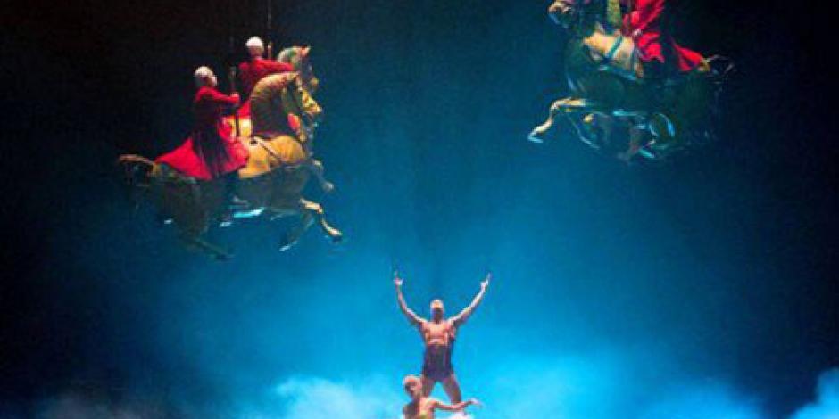 Cirque du Soleil presenta Luzia, show que promoverá a México