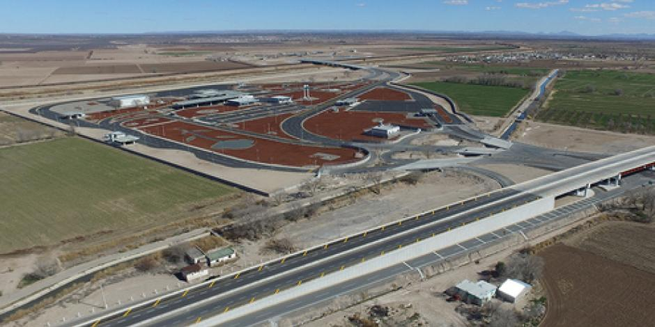 SCT entrega el puente internacional Guadalupe-Tornillo en Chihuahua