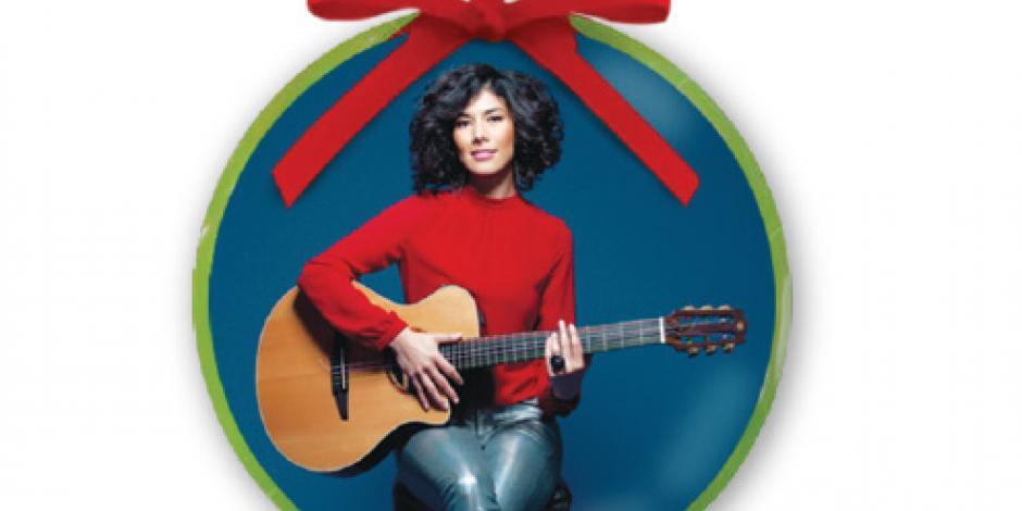 Iraida Noriega pone su toque de jazz a la Navidad de la CDMX