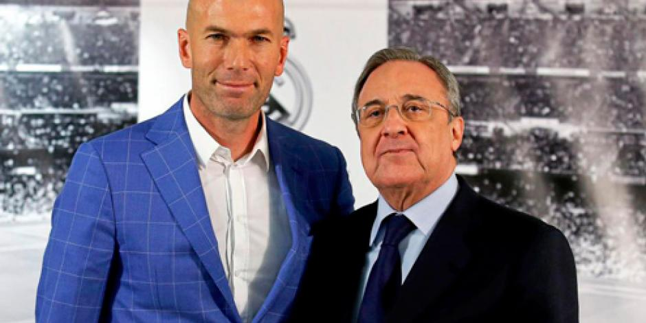 Zidane firma como técnico del Real Madrid hasta el 2018