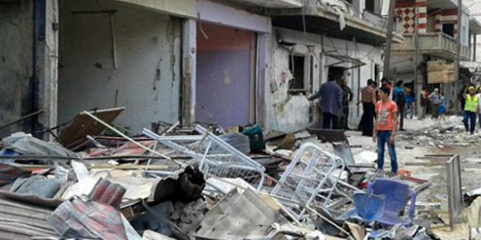 Mueren 30 tras ataque a campamento de desplazados en Siria