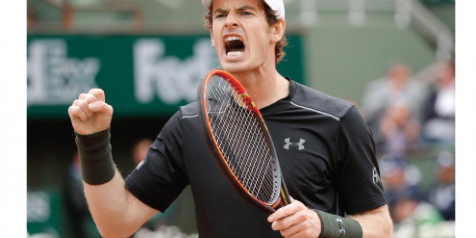 Murray fue exigido, pero avanza en París