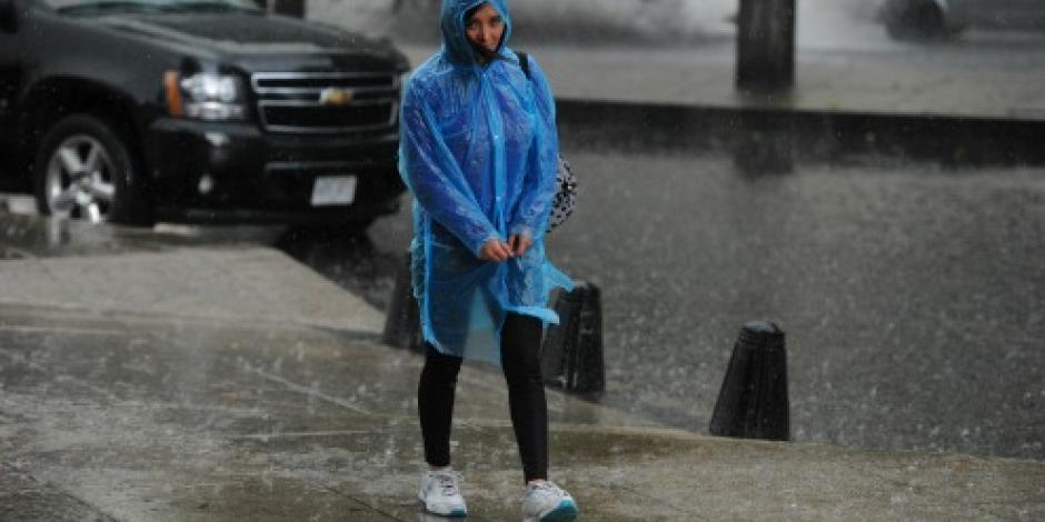 Prevén continúen lluvias en la mayor parte del país