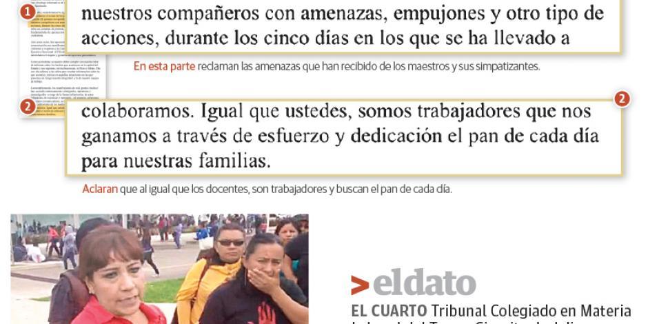 Periodistas exigen a Sección 22 cesar amenazas y agresiones