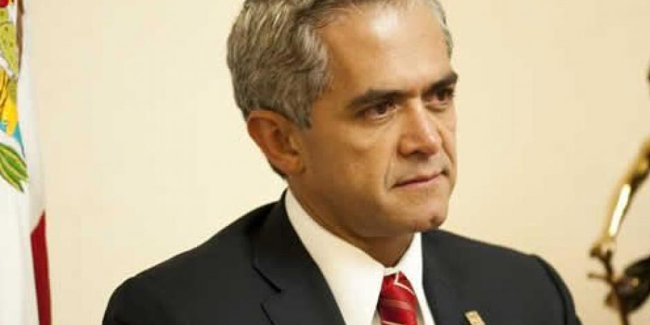 Promete Mancera que asesinato de cineasta no quedará impune