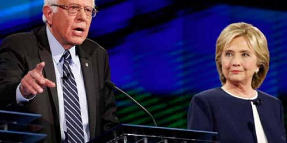 Sanders asegura que EU no puede ser la policía del mundo