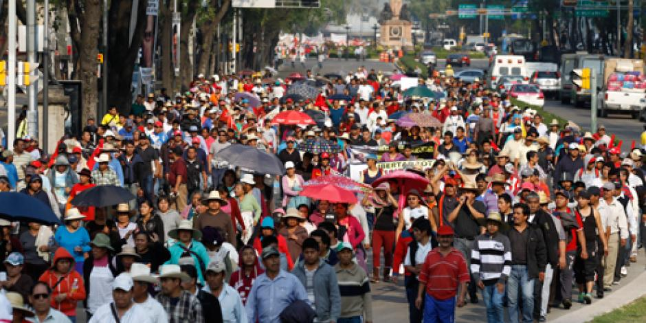 Prevén 7 movilizaciones en calles de la CDMX