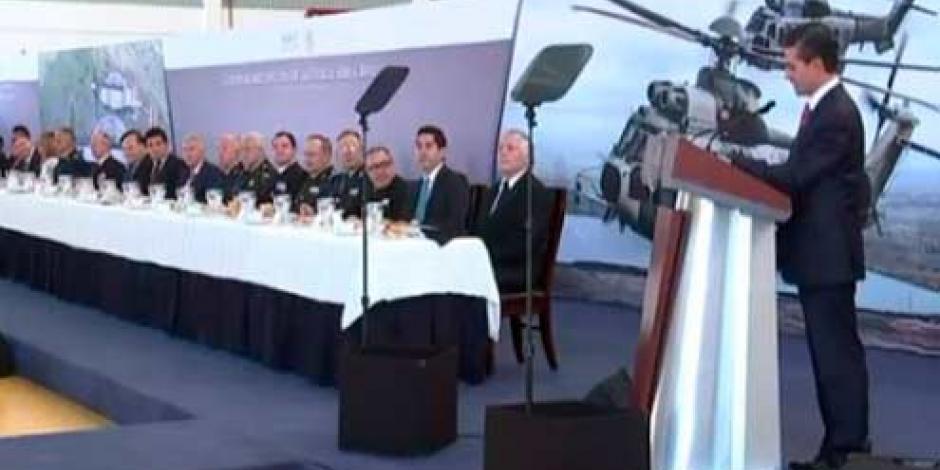 EPN fortalece la presencia de Fuerzas Aéreas en el país