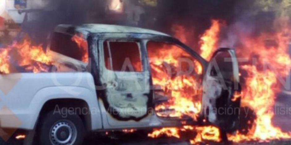 Asesinan y calcinan a tres policías de la PGR en Zihuatanejo