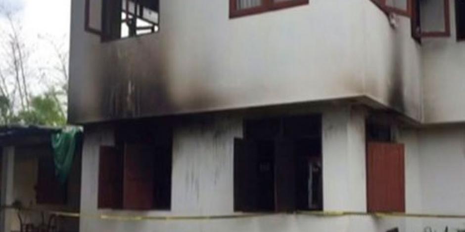 Mueren 18 niñas tras incendio en internado de Tailandia
