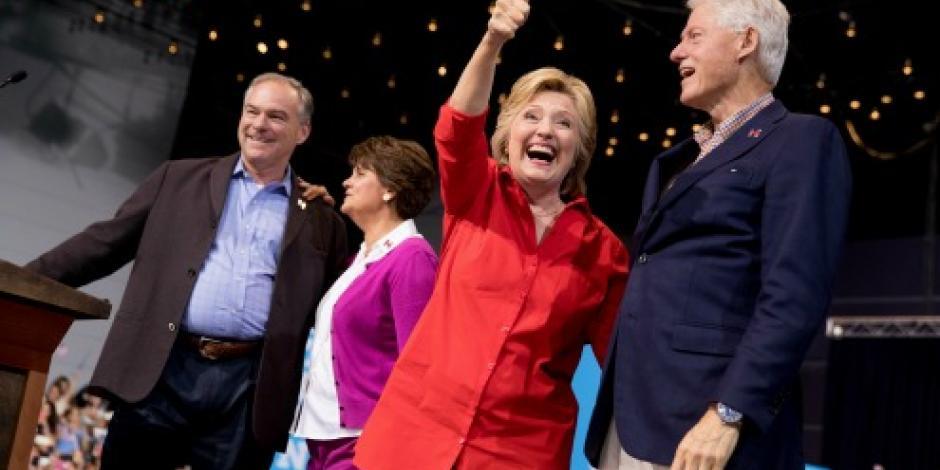 Clinton acepta dejar de hacer campaña el 11 de septiembre