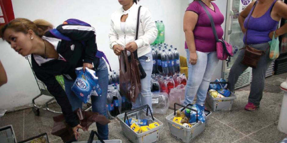 Salario en Venezuela alcanza apenas para 7 de 58 productos básicos