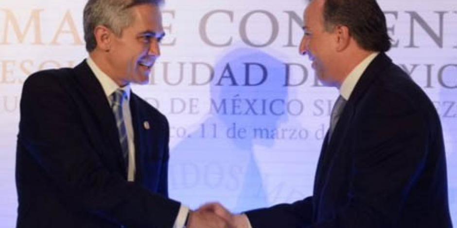 Meade y Mancera acuerdan mesas de trabajo para presupuesto de la CDMX