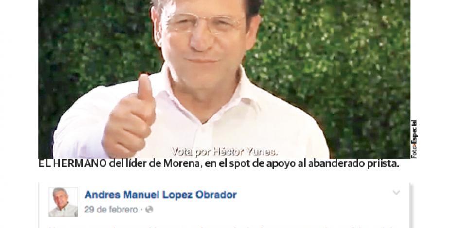 López Obrador llama a sufragar por el PRI