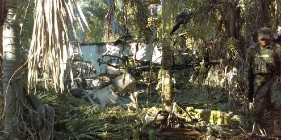 Se desploma avioneta en Colima; muere el piloto