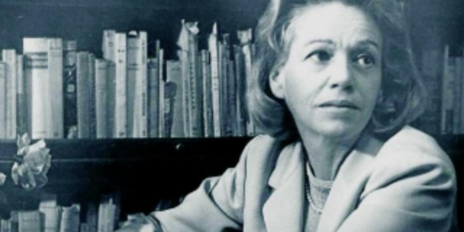 Develan en Puebla placa en honor a la escritora Elena Garro