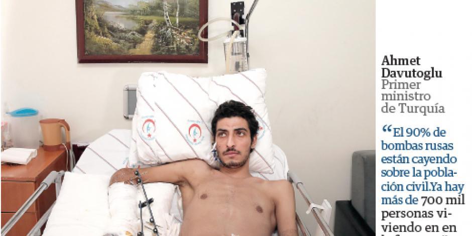 Mueren 518 en bastión rebelde sirio por ataques de Putin y Asad